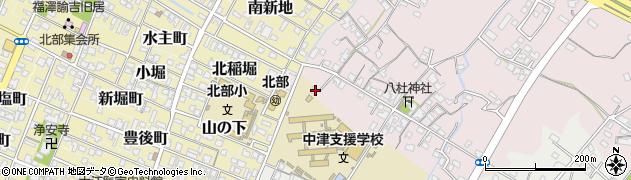 大分県中津市大塚12周辺の地図