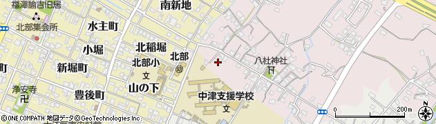 大分県中津市大塚37周辺の地図