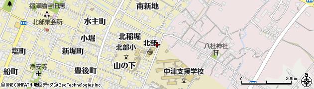 大分県中津市大塚20周辺の地図