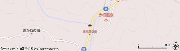 大分県国東市国見町赤根周辺の地図