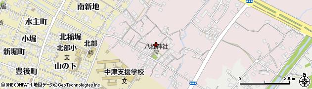大分県中津市大塚158周辺の地図