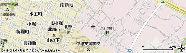 大分県中津市大塚121周辺の地図