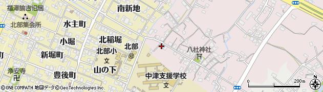 大分県中津市大塚35周辺の地図