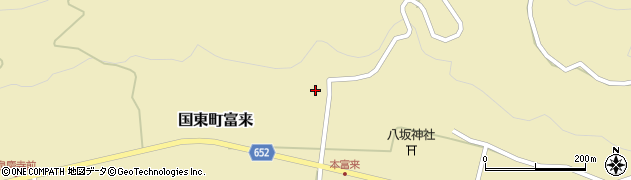 大分県国東市国東町富来1731周辺の地図