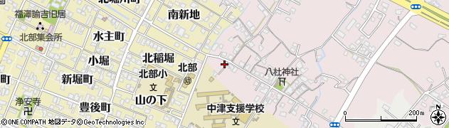 大分県中津市大塚31周辺の地図