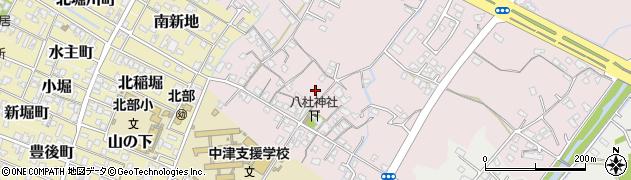 大分県中津市大塚159周辺の地図