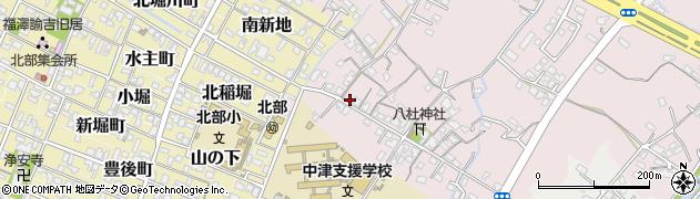 大分県中津市大塚131周辺の地図