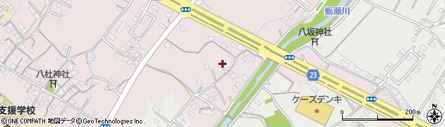 大分県中津市大塚500周辺の地図