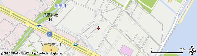 大分県中津市蛎瀬1215周辺の地図