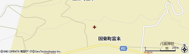 大分県国東市国東町富来1699周辺の地図