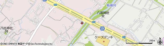 大分県中津市大塚392周辺の地図