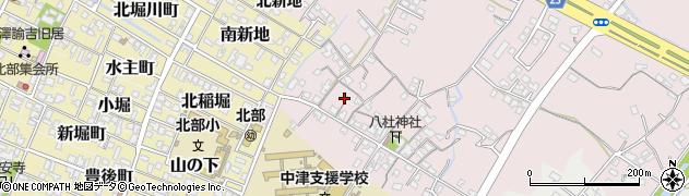 大分県中津市大塚23周辺の地図