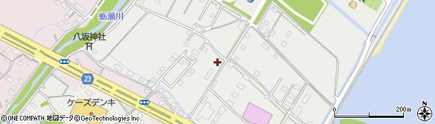 大分県中津市蛎瀬1285周辺の地図