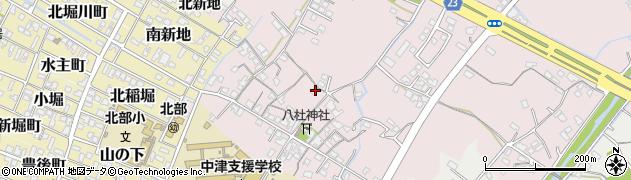 大分県中津市大塚163周辺の地図