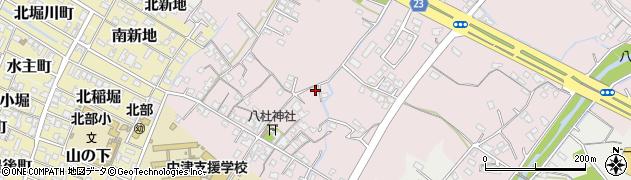 大分県中津市大塚435周辺の地図