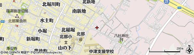 大分県中津市大塚137周辺の地図