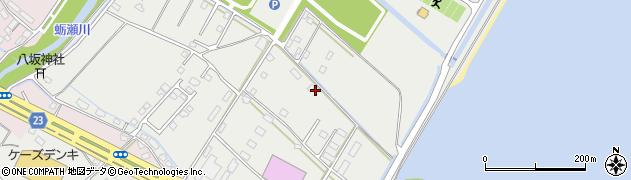 大分県中津市蛎瀬1317周辺の地図