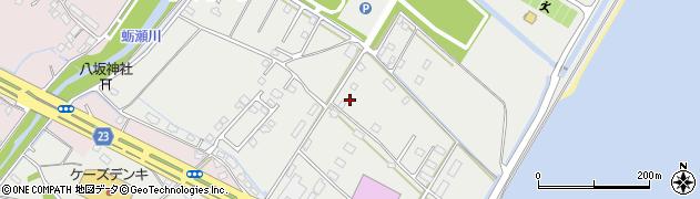 大分県中津市蛎瀬1294周辺の地図