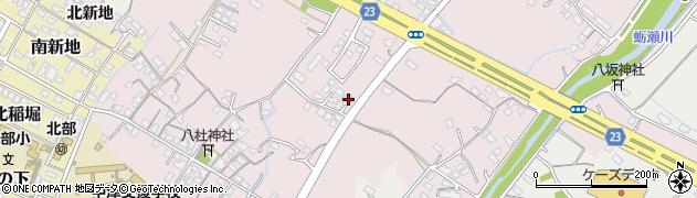大分県中津市大塚446周辺の地図