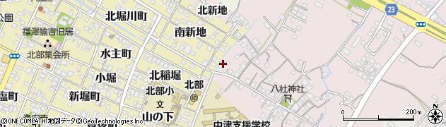 大分県中津市大塚139周辺の地図