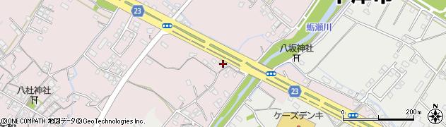 大分県中津市大塚401周辺の地図
