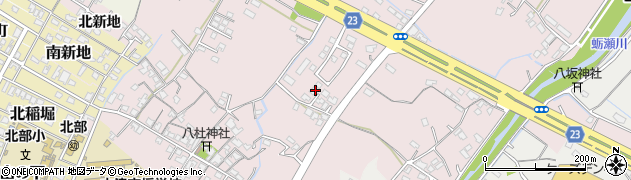 大分県中津市大塚447周辺の地図