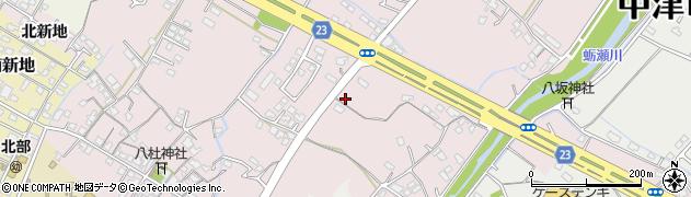 大分県中津市大塚464周辺の地図