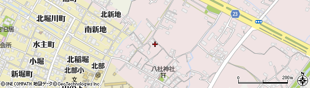 大分県中津市大塚170周辺の地図