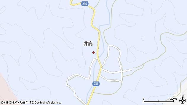 〒649-5133 和歌山県東牟婁郡那智勝浦町井鹿の地図