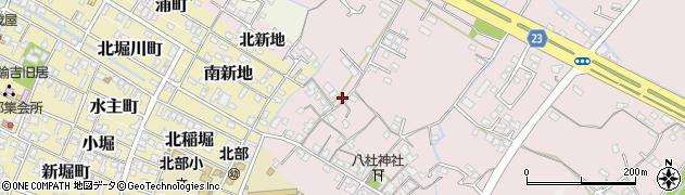大分県中津市大塚182周辺の地図