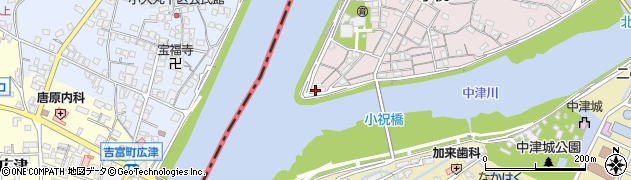 大分県中津市小祝20周辺の地図