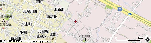 大分県中津市大塚184周辺の地図