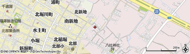 大分県中津市大塚296周辺の地図