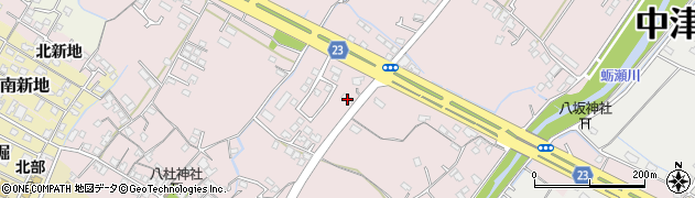 大分県中津市大塚459周辺の地図