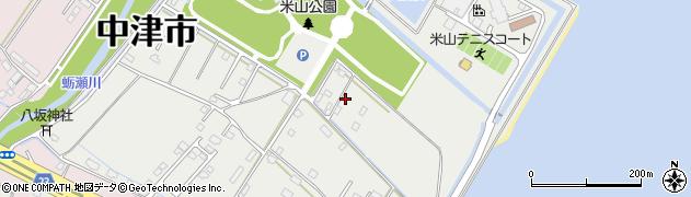 大分県中津市蛎瀬1373周辺の地図