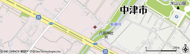 大分県中津市大塚384周辺の地図