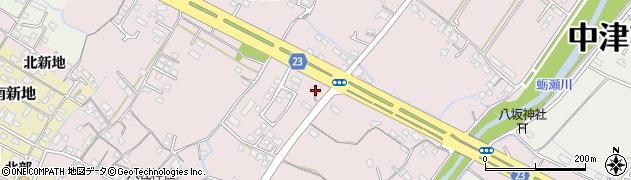 大分県中津市大塚415周辺の地図