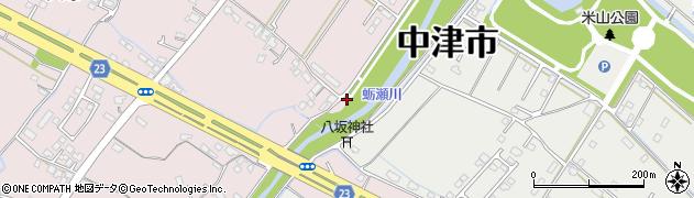 大分県中津市大塚591周辺の地図