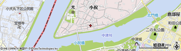 大分県中津市小祝101周辺の地図