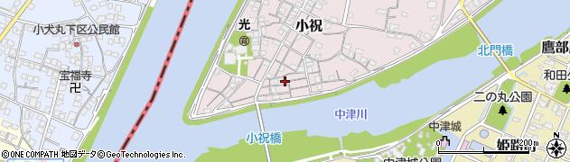 大分県中津市小祝102周辺の地図