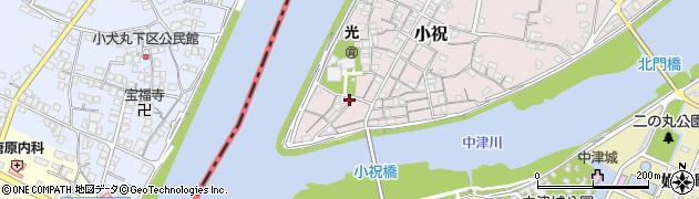 大分県中津市小祝63周辺の地図