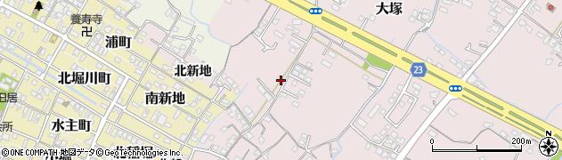大分県中津市大塚210周辺の地図