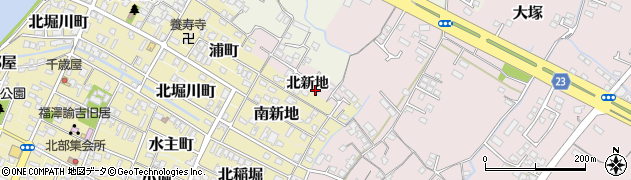 大分県中津市大塚191周辺の地図