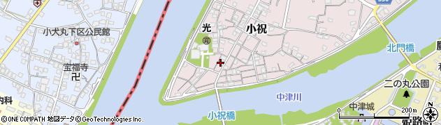 大分県中津市小祝194周辺の地図
