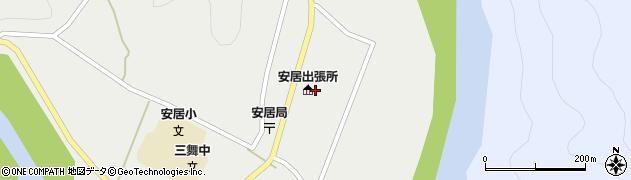 白浜町安居出張所周辺の地図