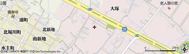 大分県中津市大塚278周辺の地図