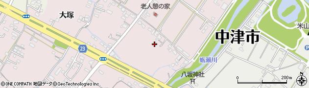 大分県中津市大塚373周辺の地図