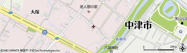 大分県中津市大塚594周辺の地図
