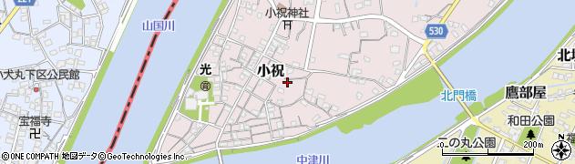 大分県中津市小祝669周辺の地図