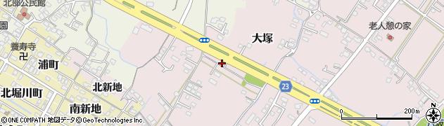 大分県中津市大塚275周辺の地図